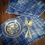 blue willow placemats